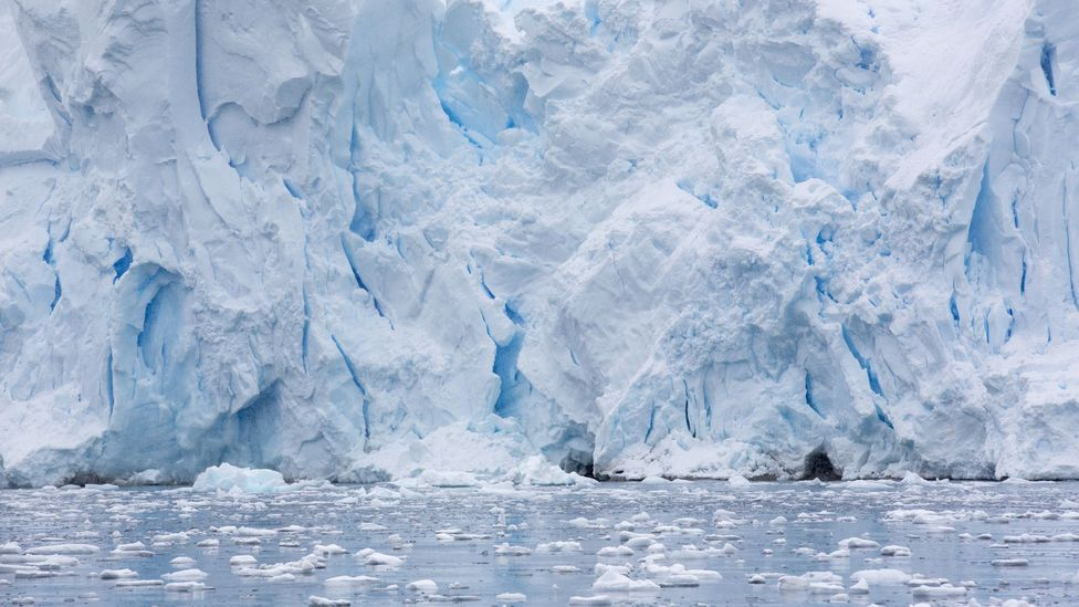 The rising sea level from melting glaciers could cause some countries to become 'virtual' nations (Credit: Science Photo Library)