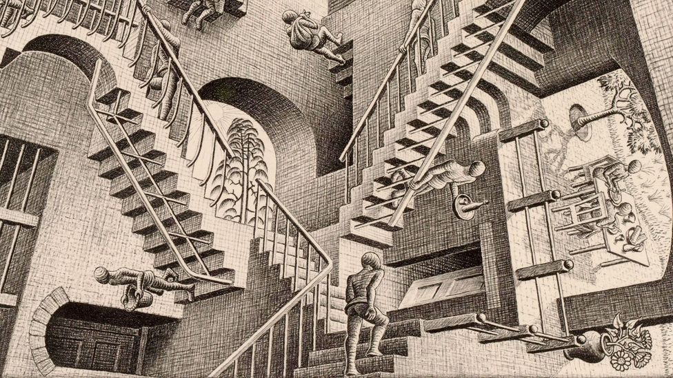 MC Escher: An enigma behind an illusion - BBC Culture