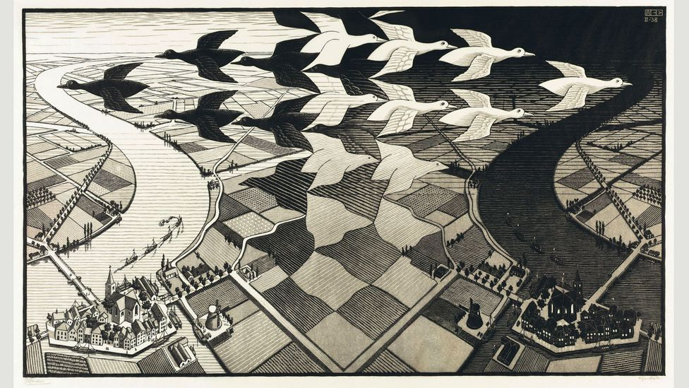 Day and Night was Escher's most popular print: during the course of his lifetime (Credit: 2015 The M.C. Escher Company – Baarn, The Netherlands)