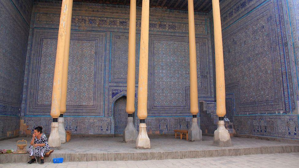 Khiva, Uzbekistan, Summer Mosque, Kuhna Ark