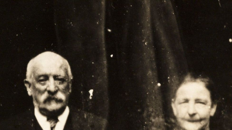 William Hope created double exposures that made it look as if there were ghosts in the frame (Credit: National Media Museum)
