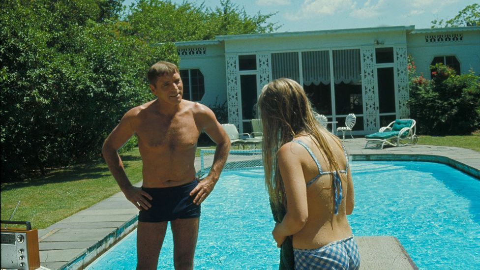In The Swimmer (1968) a feat of endurance slowly reveals a man's failing mental health (Credit: Moviestore/REX Shutterstock)