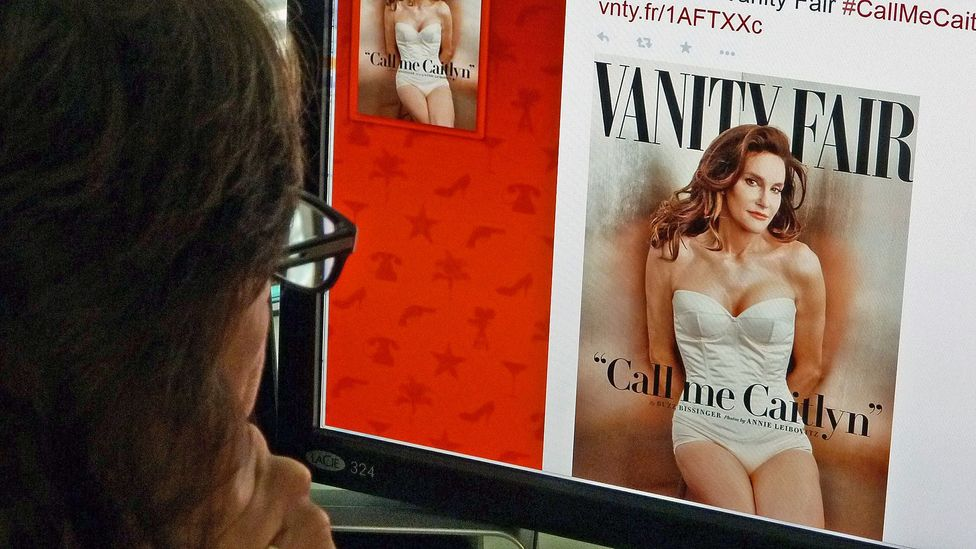 Offices were transfixed by Caitlyn Jenner's transformation. (Credit:Mladen Antonov/Getty)