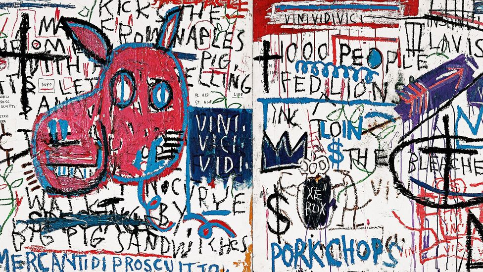 Man from Naples, 1982 (Credit: Estate of Jean-Michel Basquiat. Licensed by Artestar, NYC)