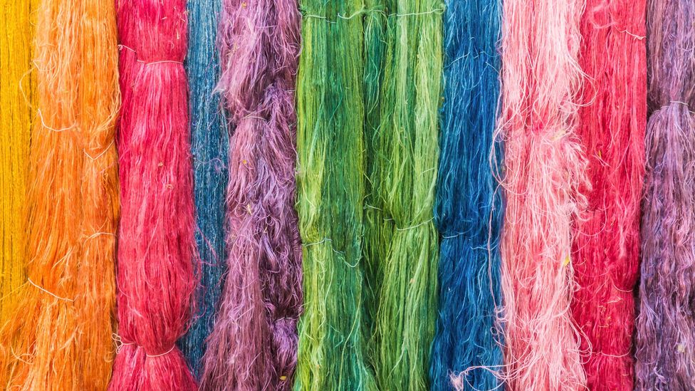 Fluff tends to take on the colour of the cotton fibres it's mostly made of (Credit: Getty Images)
