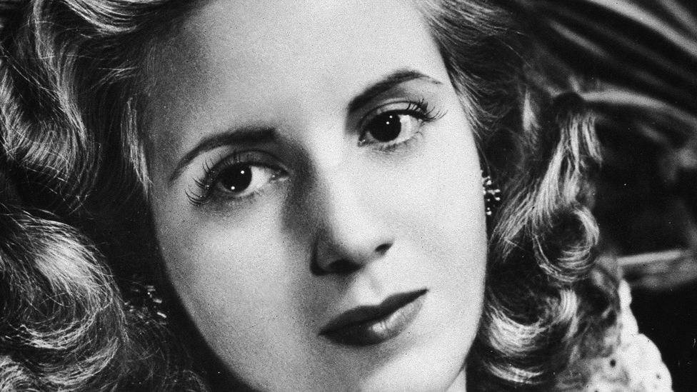 Eva Peron in the 1940s, years before cancer would strike (Credit: Getty Images)