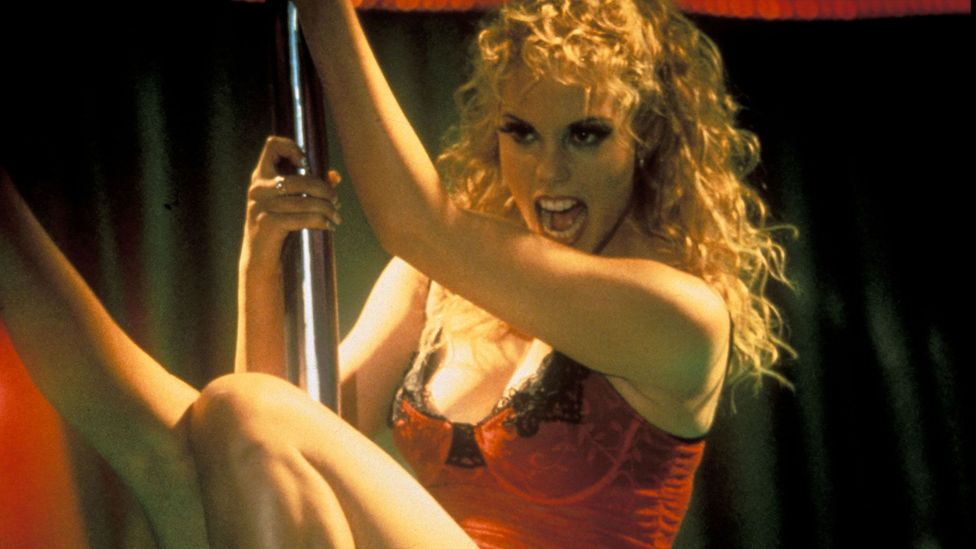 Showgirls (1995) and Striptease (1996) were despised by critics and painted bleak pictures of their settings (Credit: Alamy)
