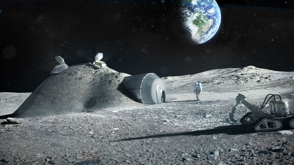 If a mission to Mars is to succeed, a Moon colony could be a valuable stepping stone (Credit: Science Photo Library)