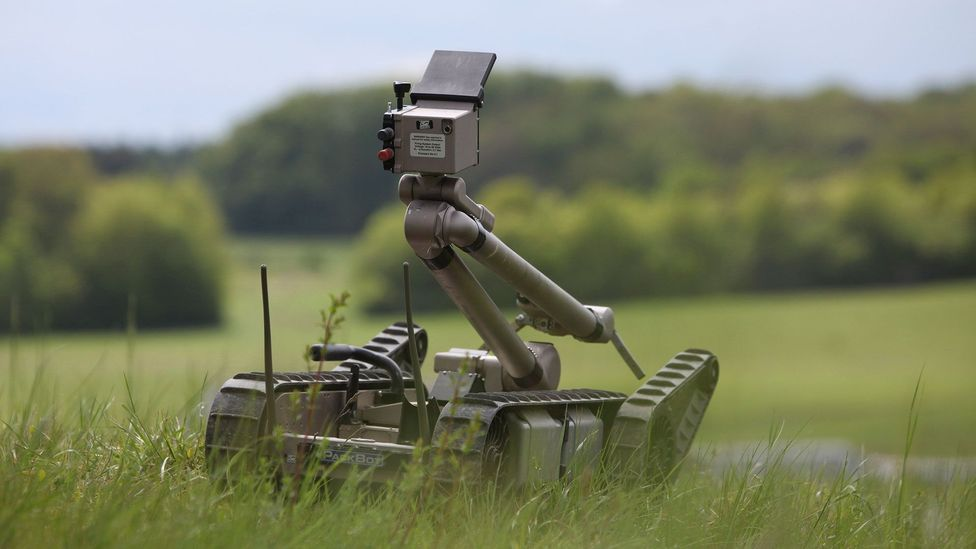 Military robots could be designed so that they develop their own ethical framework (Credit: Getty Images)