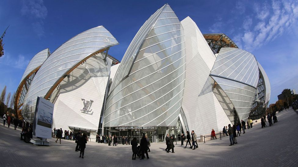 The construction of Frank Gehry's Fondation Louis Vuitton was funded by the luxury goods group LVMH. The building opened to much fanfare in 2014 (Credit: iStock)