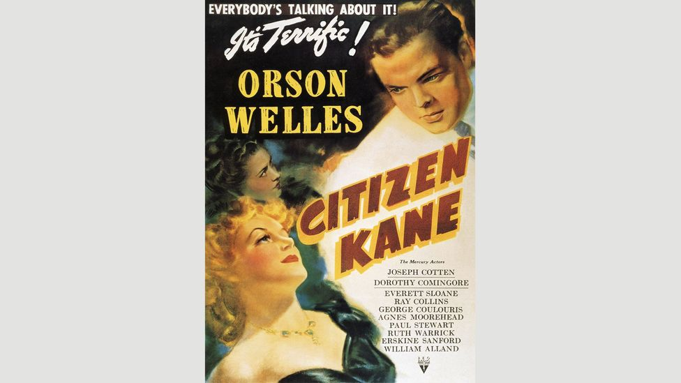 """""""It's terrific!"""" proclaims a 1941 poster for Citizen Kane (Credit: Alamy)"""