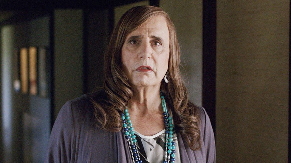 """Writing in the New Yorker, TV critic Emily Nussbaum praised the character of Maura in Transparent for being """"nobody's role model but her own"""" (Credit: Amazon)"""