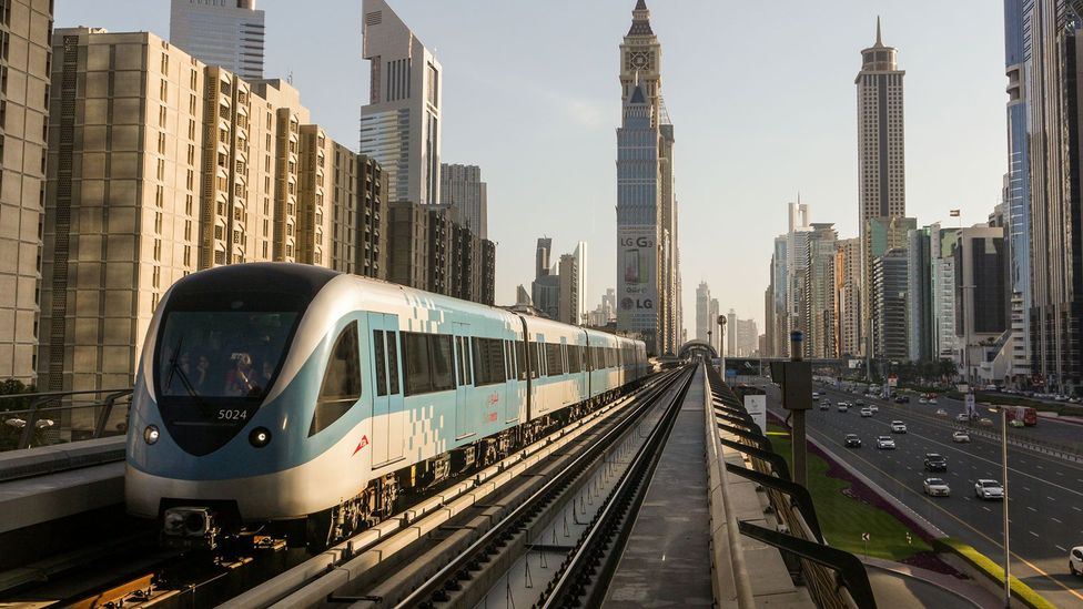 Many rail networks - including Dubai's - are already autonomous. Yet the new technology can bring new opportunities (Credit: Getty Images)