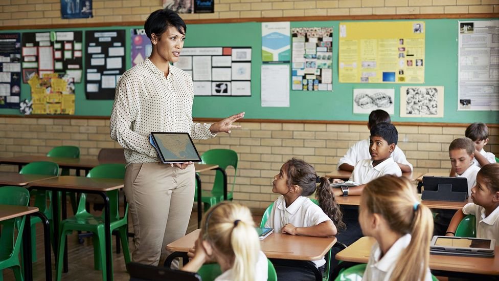 We are a far cry from robots who can manage a classroom of children (Credit: Getty Images)
