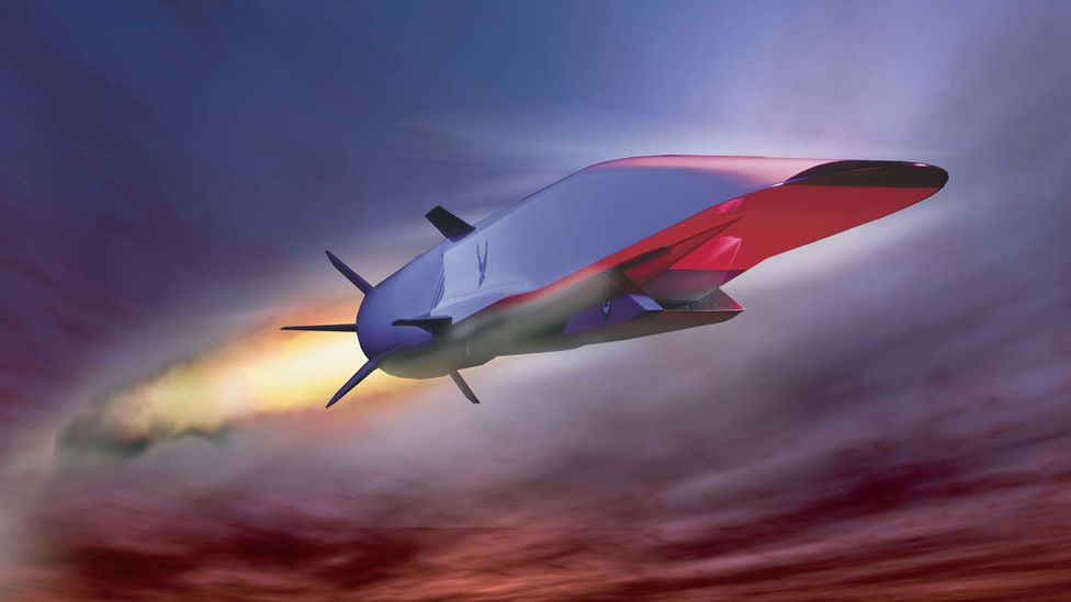 Flying at Mach 5 is not a problem - but 60 million per hour presents different problems (Credit: US Air Force)