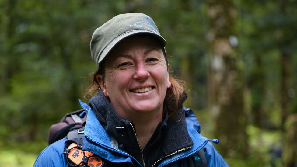 Guide Shelley Neame (Credit: Naomi Arnold)