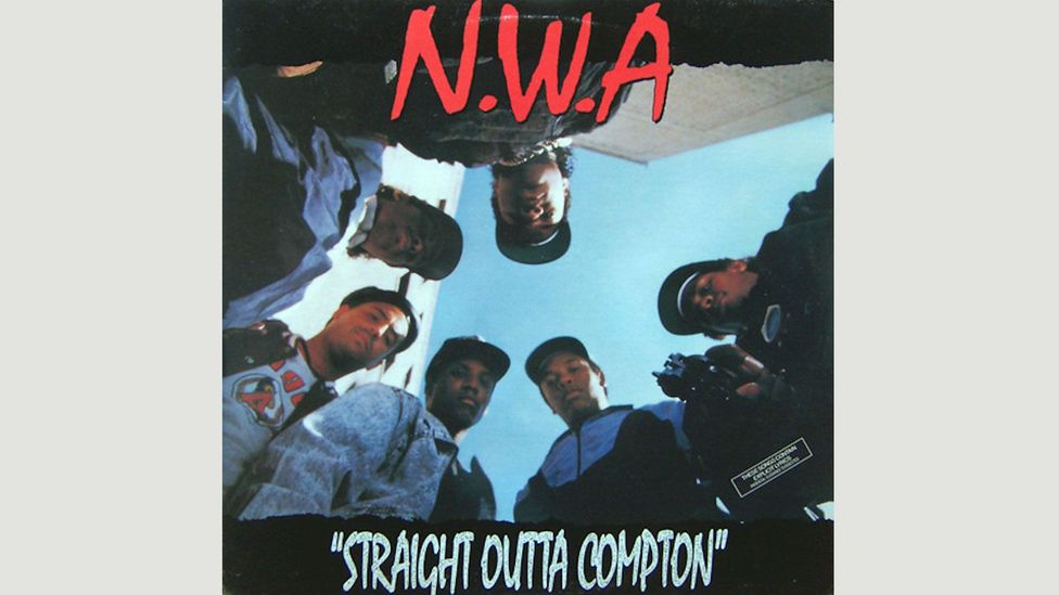 With Straight Outta Compton, NWA offered an uncompromising view of life as young black men on the streets of LA (Credit: Ruthless)