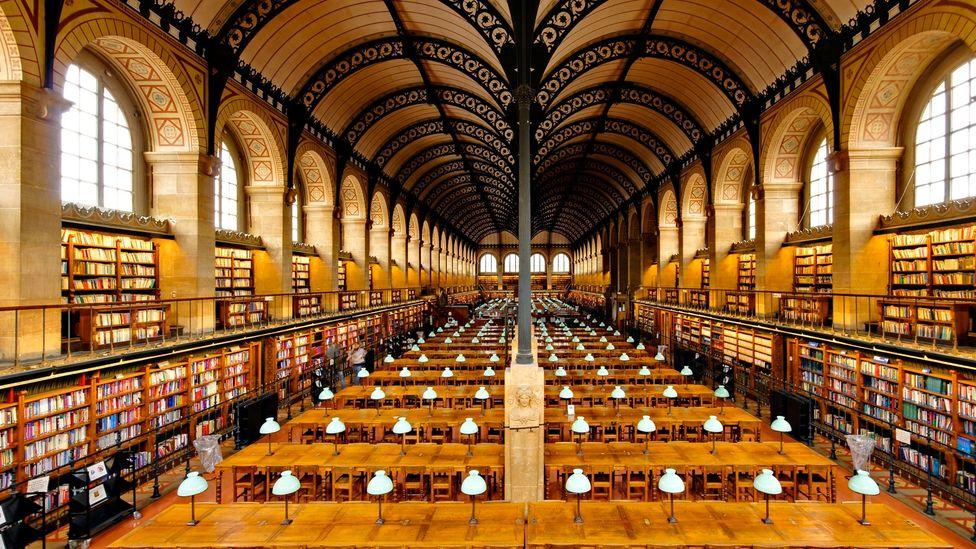Sainte-Geneviève Library in Paris