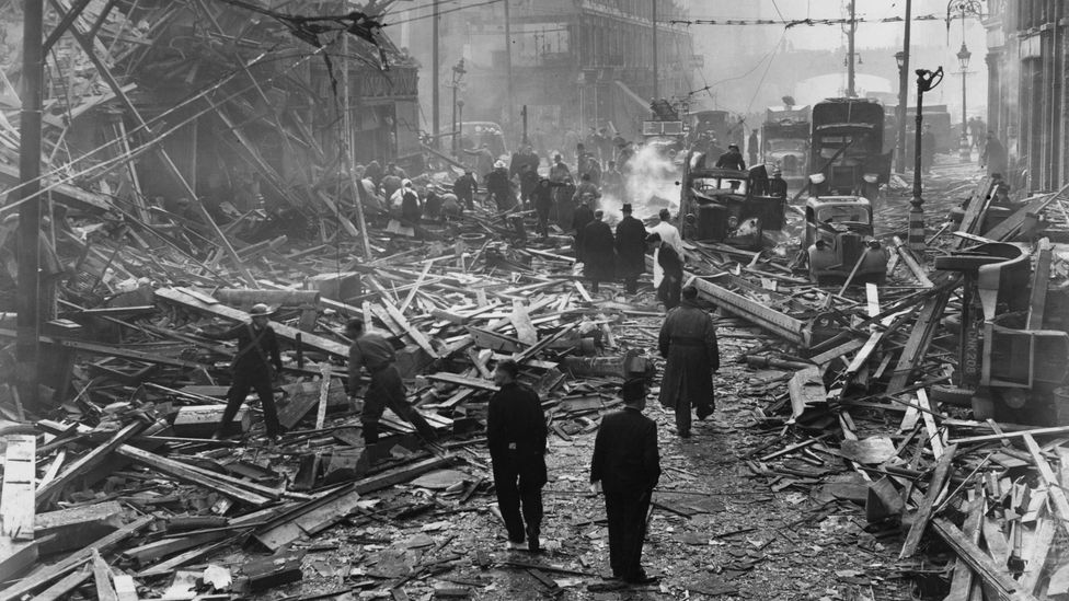 V2 rockets killed many hundreds of Britons in the final months of the war (Credit: Getty Images)