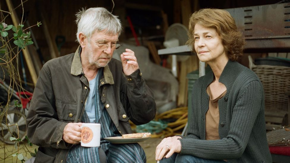 In 45 Years, Tom Courtenay and Charlotte Rampling play a couple preparing to mark a significant wedding anniversary (Credit: The Bureau)