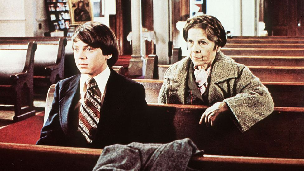 In Harold and Maude (1971) a young man becomes enchanted by an older woman he meets at a funeral (Credit: Snap Stills/Rex Shutterstock)