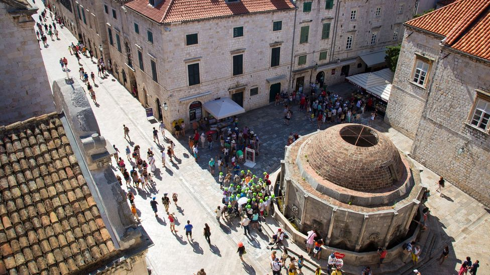 People gather in the heart of Dubrovnik's Old Town (Credit: Marcoscisetti/Thinkstock)