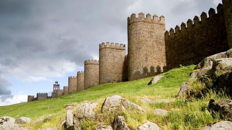 Medieval walls surround Ávila, Spain (Credit: Matt Trommer/Thinkstock)