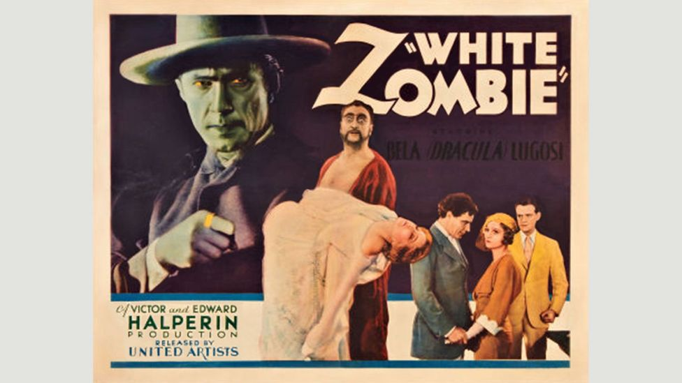 The concept of the zombie in Voodoo folklore could be seen as a metaphor for slavery – but it was co-opted by American filmmakers for horror movies (Credit: United Artists)