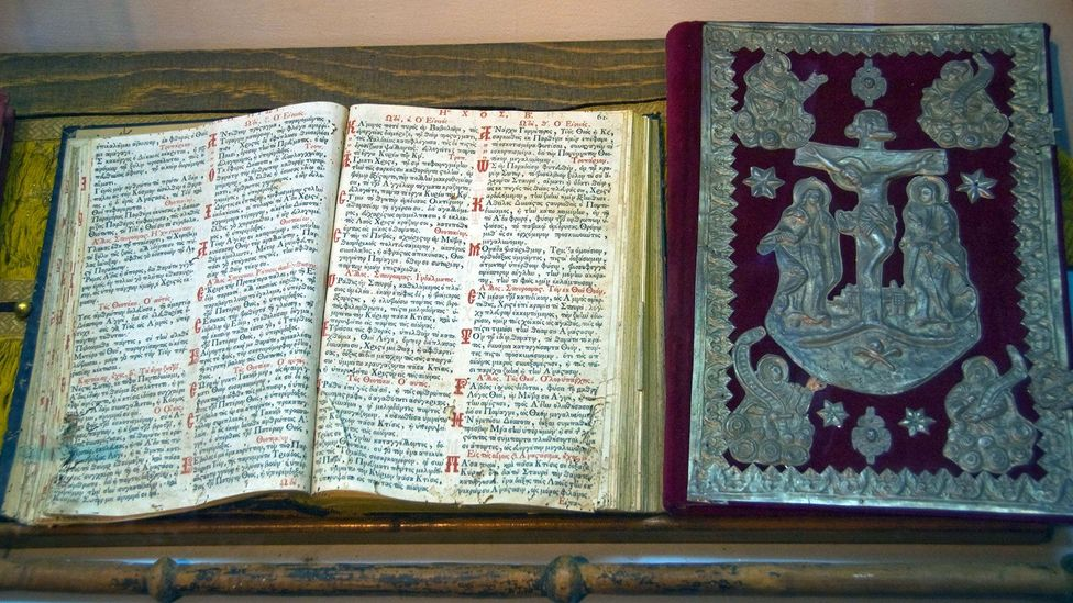 Books became an integral part of the Christian identity, acquiring decorative letters and paragraph marks (Credit: Alamy)