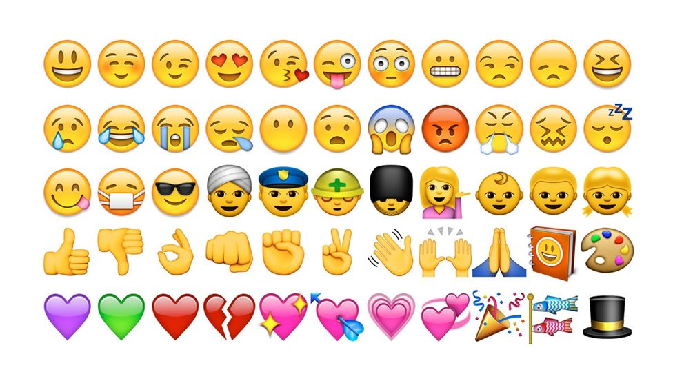 The emoji: a new form of punctuation? (Credit: Emoji)