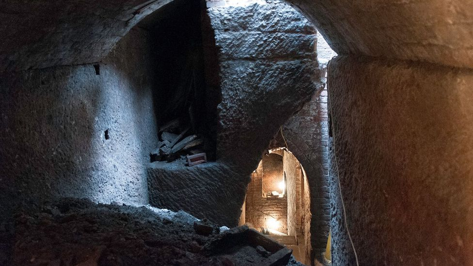 The tunnel system must be one of the most mysterious engineering projects in Liverpool's history (Credit: Chris Iles/Friends of Williamson's Tunnels/www.williamsontunnels.com)
