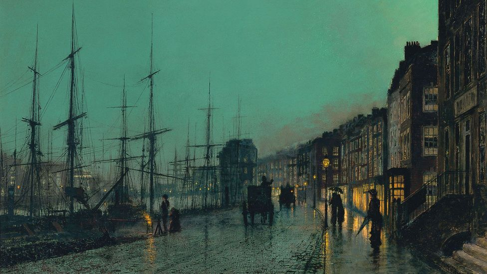 John Atkinson Grimshaw, Shipping on the Clyde, 1881 (Credit: John Atkinson Grimshaw)