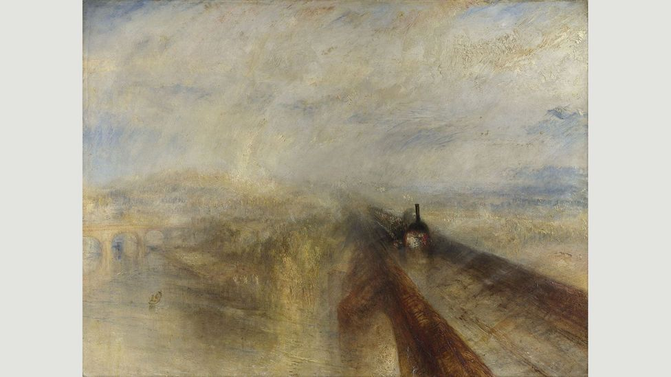 JMW Turner, Rain, Steam and Speed – The Great Western Railway, 1844 - In the early 19th Century, Constable and Turner were synonymous with weather painting (Credit: JMW Turner)
