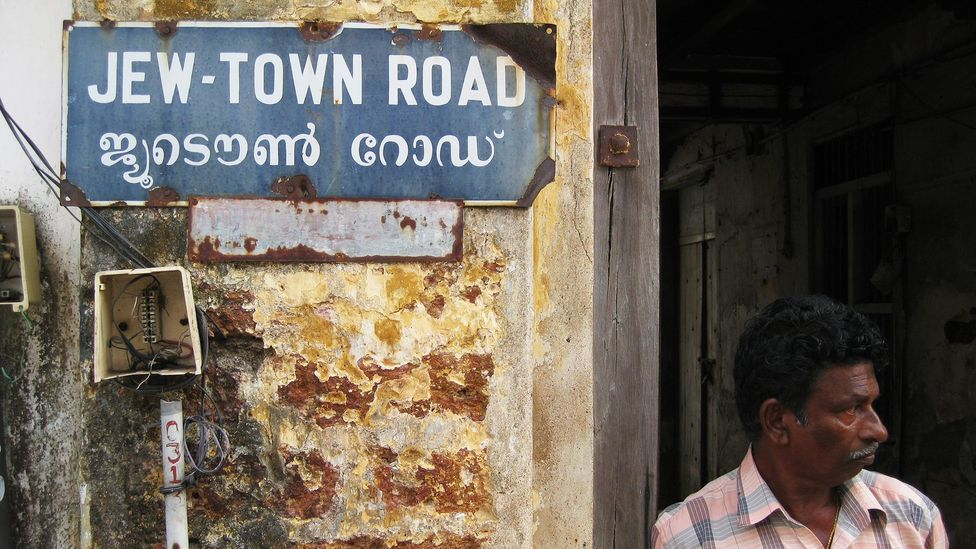Cochin's fast-dwindling Jew Town (Credit: Bernard Oh/Cochin Jew Town/Flickr/CC BY-ND 2.0)