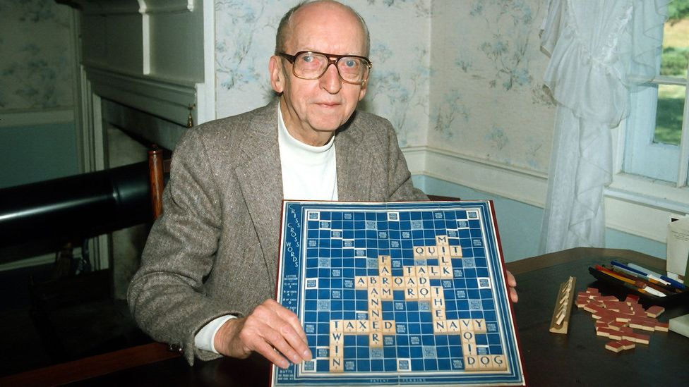Alfred Mosher Butts was fond of chess, crosswords and jigsaw puzzles, and the influence of all of these can be seen in Scrabble (Credit: Getty Images)