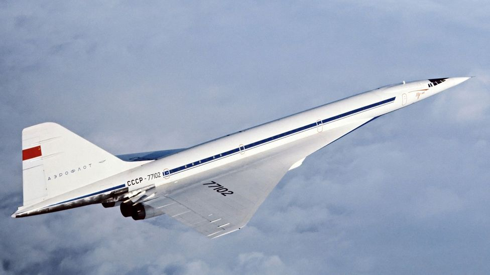 The Soviet Tu-144 was the only other airliner to take passengers faster than the speed of sound (Credit: Science Photo Library)