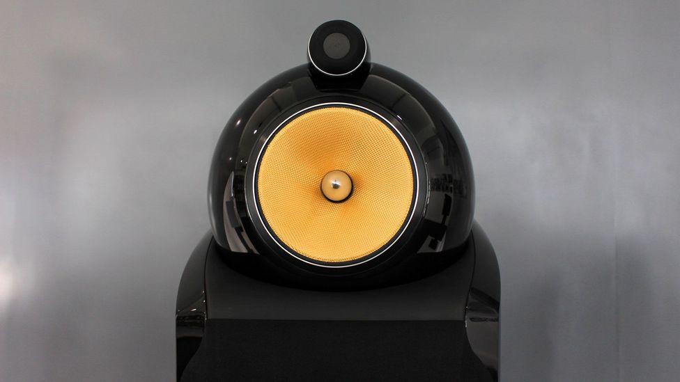 The Diamond 802 speakers cost £14,000 ($21,500) (Credit: Chris Baraniuk)