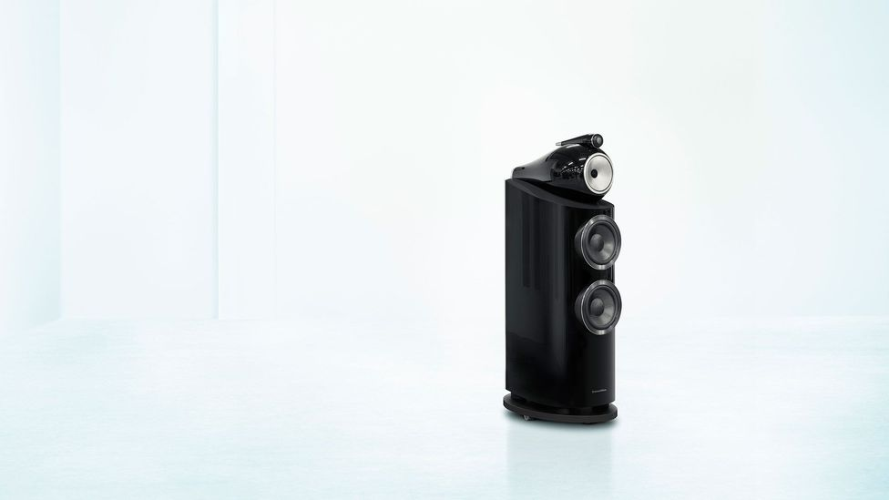 The Diamond 802 contains diamond, as you might expect (Credit: Bowers & Wilkins)