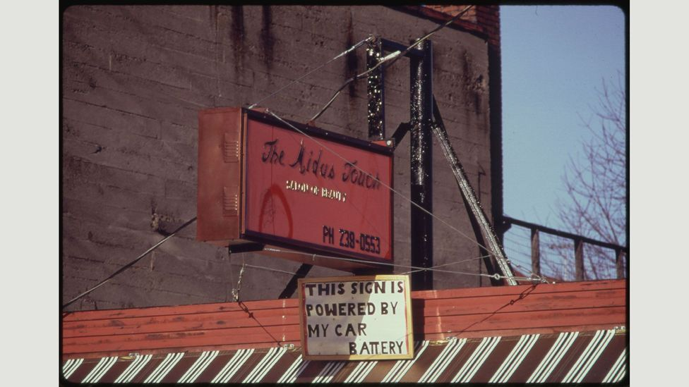 Batteries proved a way to keep businesses going (David Falconer/The US National Archives/Flickr)