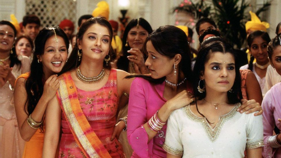 Among the many and various adaptations is Bride and Prejudice, Gurinda Chadha's Bollywood-style take from 2004 (Credit: Miramax)