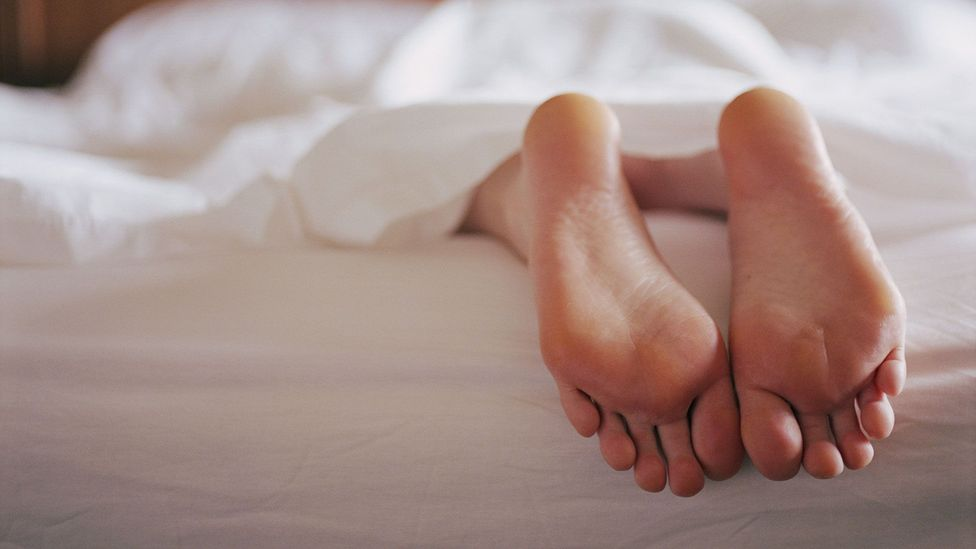 Taller men may be a disappointment in bed (and not just because they hog all the sheets) (Credit: Getty Images)