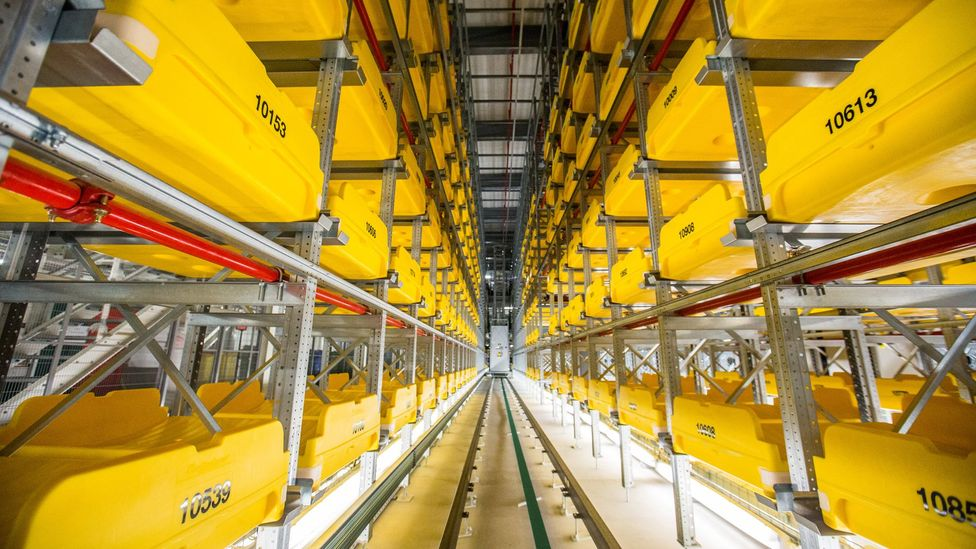 The new system could deal with as many as 7,200 bags an hour (Credit: Heathrow Airport)