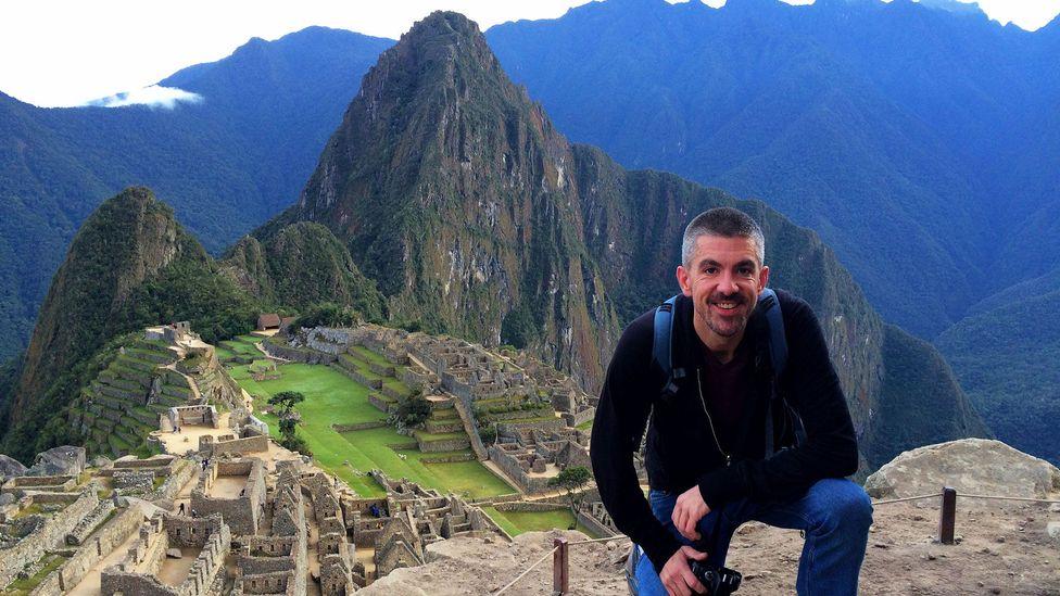 Travel blogger Matt Long at Machu Picchu (Credit: Matt Long)