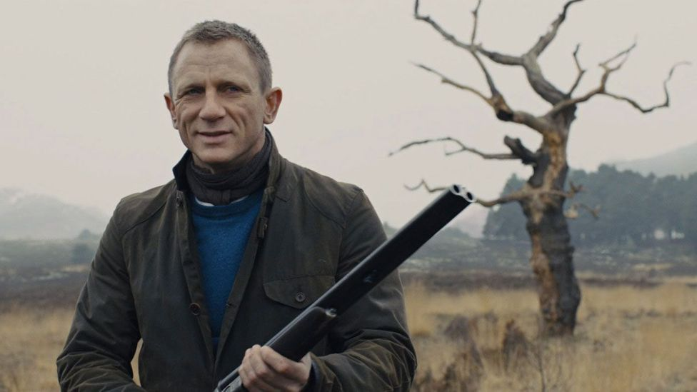 The Barbour jacket the secret agent wore in Skyfall immediately sold out – a phenomenon that has been described as 'the Bond effect' (Sony Pictures Releasing)