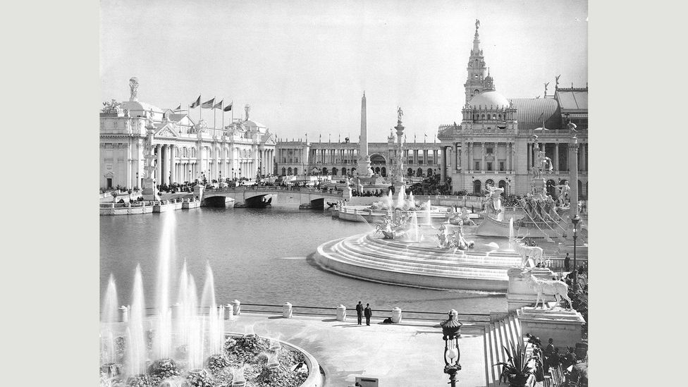 The Chicago World's Fair of 1893 was visited by more than 27.5 million people from around the world (Credit: Chicago History Museum/Alamy)