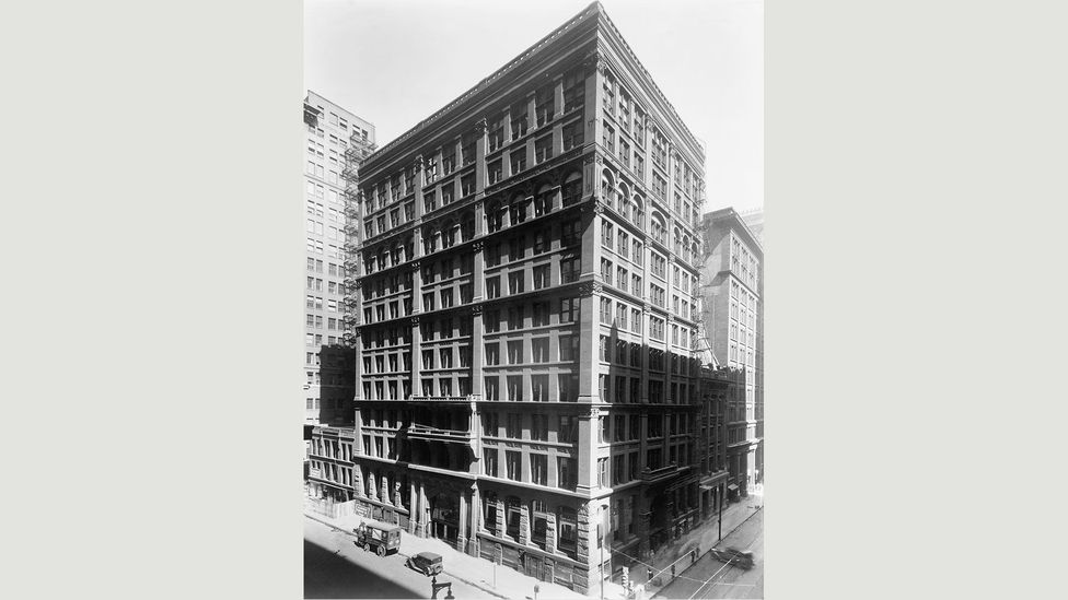 The Home Insurance Company's building on the corner of LaSalle and Adams Street was the world's first skyscraper (Credit: Corbis)