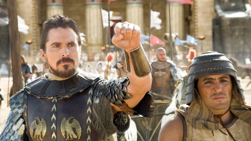Ridley Scott was criticised because his picture Exodus: Gods and Kings had non-North African actors playing Egyptians (Credit: Twentieth Century Fox)