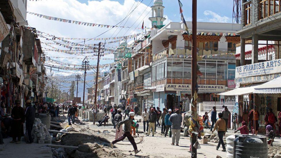Leh, Ladakh's dusty capital