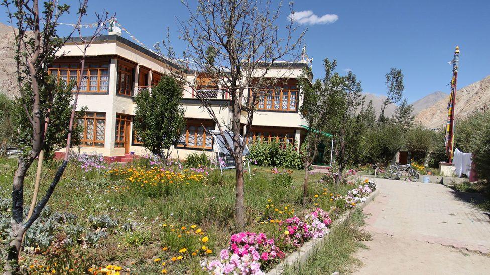 The house of Tsewang Paljor's family