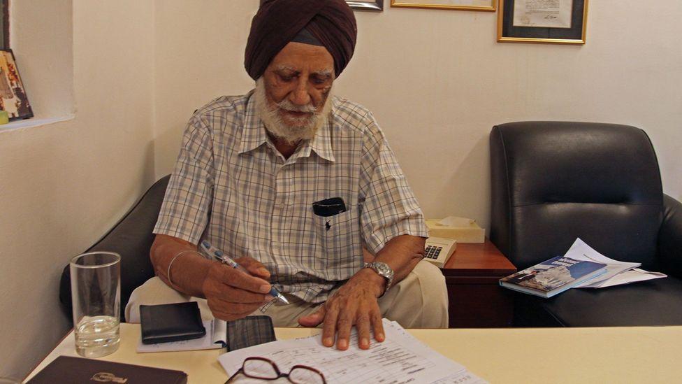 Captain MS Kohli, at his hotel in New Delhi, the Legend Inn